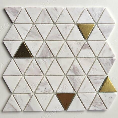 Azulejos y mosaicos de piedra y metal para el suelo o la pared VOLO