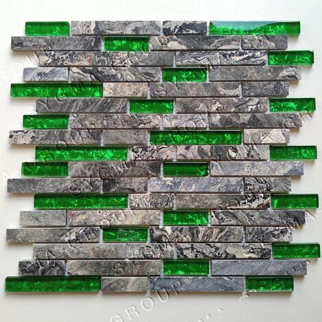 Azulejos y mosaicos para una pared de baño o ducha Quilt