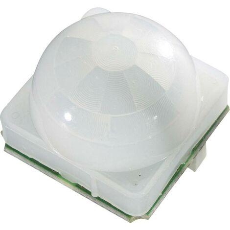 B & B Thermo-Technik PIR-Bewegungssensor-Modul PIR-T1-M1-L0 12 V/DC 3 - 12 V/DC (L x B x H) 20 x 25 Q45377