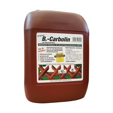 B.-carboline de revetement en bois de 10 litres en plastique Kan.