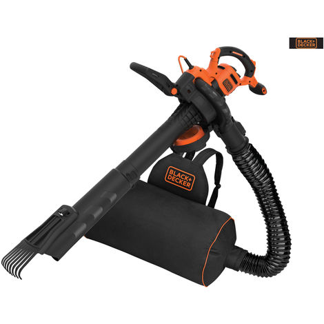 B/DECKER 3000W 3IN1 B/PACK BLOWER VAC + ATTACH
