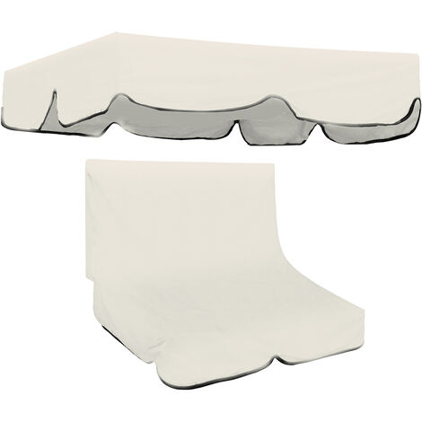 """main image of """"2/3 Seater Swivel Garden Chair Canopy Replacement Seat Cover"""""""