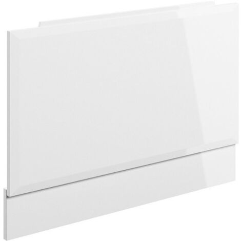 B To Love Volta 750mm End Panel White Gloss