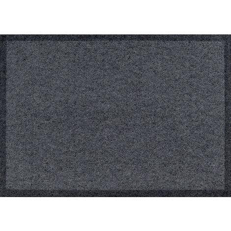 Siena Home Fußmatte Waterstop 40 x 60 cm anthrazit Fußabtreter Schmutzfangmatte