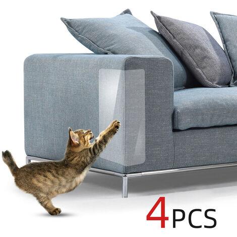 B23202 Autocollants anti-rayures pour chats et canapes, 4 pieces, taille XXL