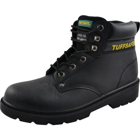 BAB05 Men's Black Safety Boots