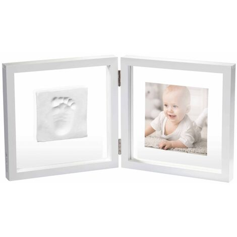 Baby Art Cadre de collage My Baby Style Blanc cristal