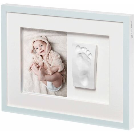Baby Art Cadre de collage Tiny Style Blanc cristal