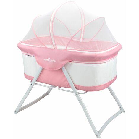 Baby Babybett BEBITO Reisebett Beistellbett mit Moskitonetz und Tragetasche - 6 Farben