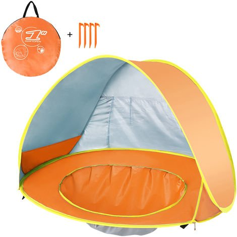 Baby Beach Tent Waterproof Anti-UV Kids Outdoor Tent