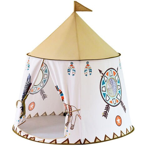 Baby Child Princess Play Tent Teepee Indoor Outdoor Playhouse