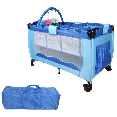 Baby Cot Bed BCB01 Blue