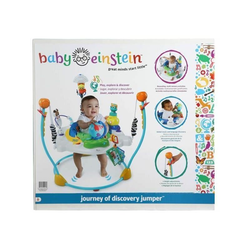 Trotteur Journey of Discovery Jumper - Multicolore - Baby Einstein