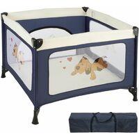 Baby Laufstall Tommy Junior - Babyreisebett, Kinderreisebett, Reisebett