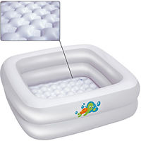 Baby Paddle Pond Bestway Turtle White Inflatable Children from 0 to 3 years