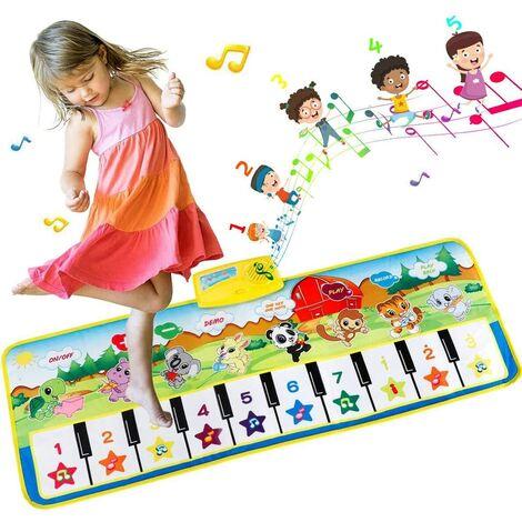 Baby Piano Musical Mat Musical Instrument Touch Play Mat Children's Keyboard Game 100x36cm