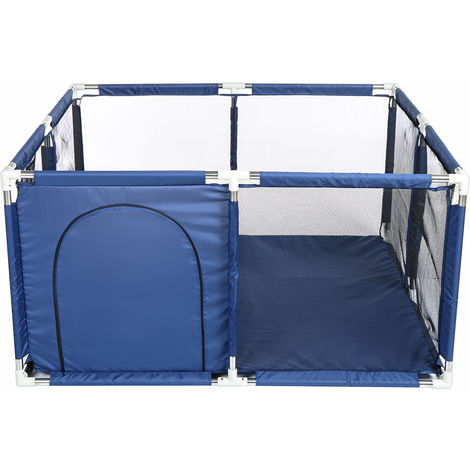 Baby Playpen Fence Safety Games With Basketball Basket