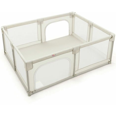 """main image of """"Baby Playpen Portable Kids Safety Yard Activity Center Infant Playards with Gate"""""""