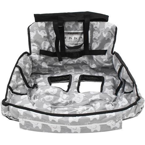Baby Shopping Cart Trolley Cover Seat High Chair Protective Mat Cushion Hasaki