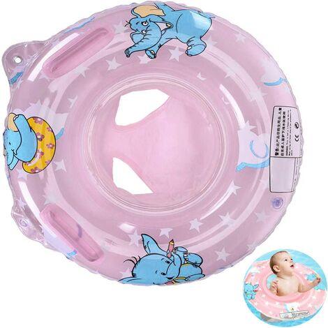 """main image of """"Baby Swimming Ring, Baby Pool Seat Inflatable Swimming Ring Floating Swimming Ring (Pink Swimming Ring)"""""""