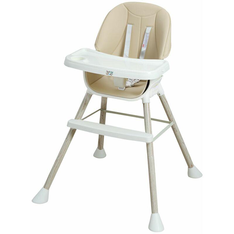 Baby Vivo Chaise Haute pour Bébé / Enfant 2 en 1 - Lani en Turquoise