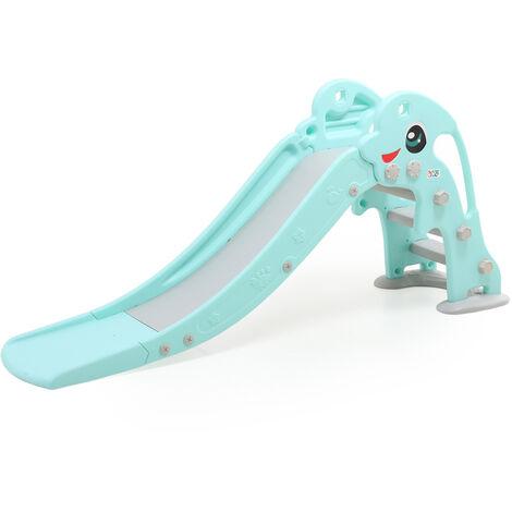 Baby Vivo Toboggan pour enfants / Toboggan - Dauphin en Turquoise