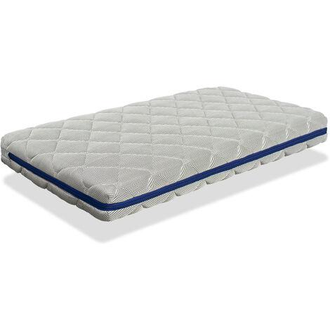 Babybettmatte 70x140 AQUA BREATHAIR HÖHE 11 CM - Kern 100% waschbar, atmungsaktiv, umweltfreundlich und recycelbar