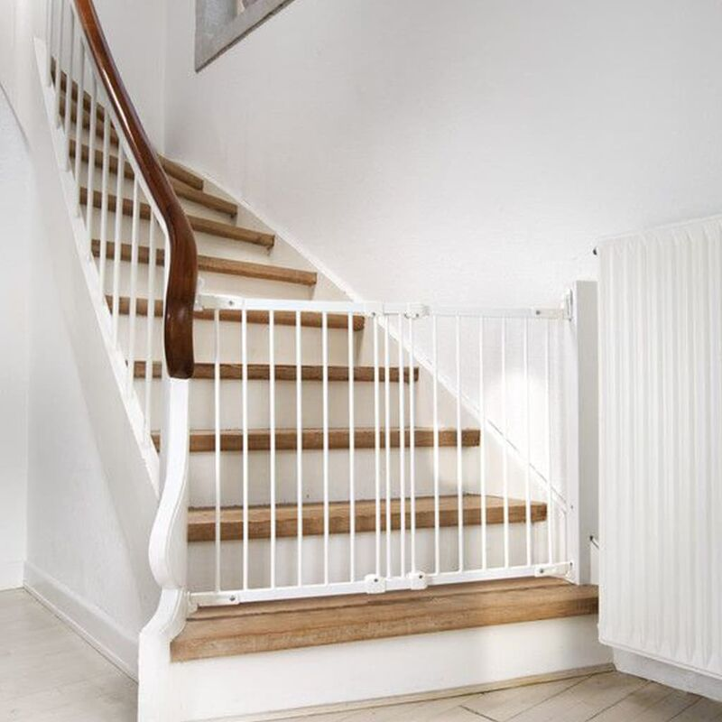 Image of Safety Gate FlexiGate White 67-106.5 cm - White - Babydan
