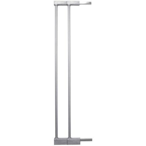 BabyDan Schutzgitter-Verlängerung Extend-A-Gate Silbern 14 cm Metall