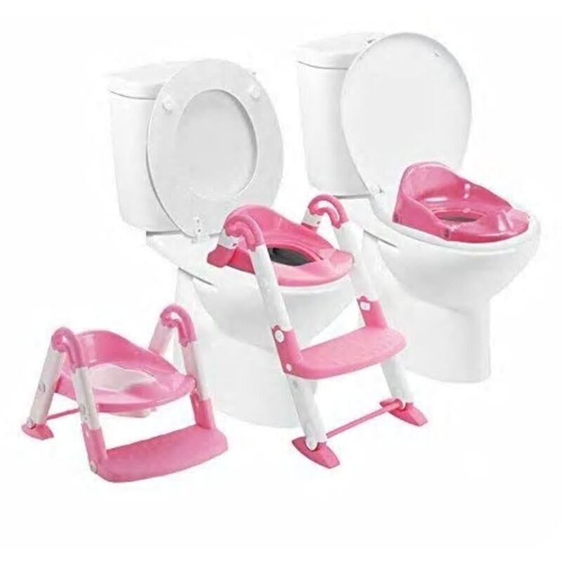 Image of 3-in-1 Potty Training Seat Pink - Babyloo