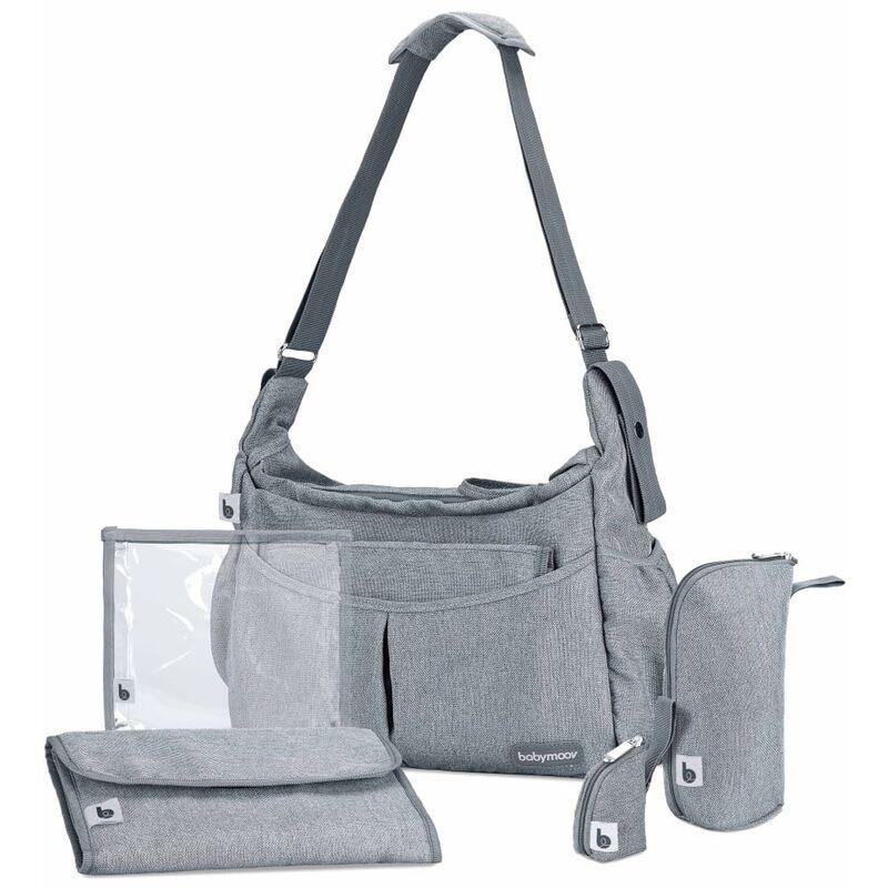 Image of Diaper Bag Urban Smokey Grey - Grey - Babymoov