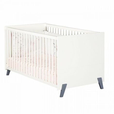 Babyprice - JOY GRIS - Lit Evolutif Little Big Bed 140x70