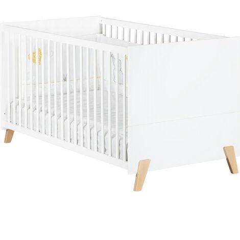 Babyprice - JOY NATUREL - Lit Evolutif Little Big Bed 140x70