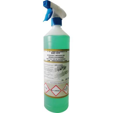 BAC 97-FR Detergente limpiador desinfectante 1L