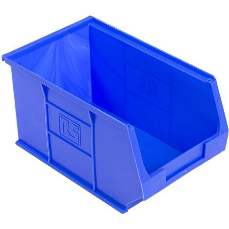 Bac à bec Bleu Plastique, 130mm x 150mm x 240mm empilable
