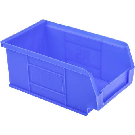 Bac à bec Bleu Plastique, 76mm x 101mm x 167mm empilable