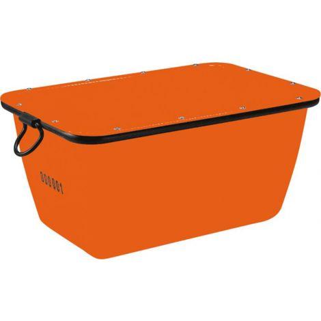 Bac à mortier 200 L, orange grutables