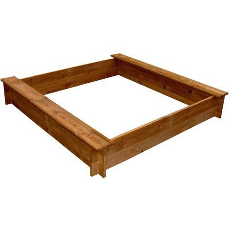 Bac à sable carré Bois