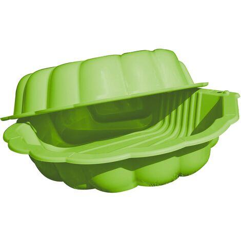 Bac à sable en plastique forme coquillage - Coquilles