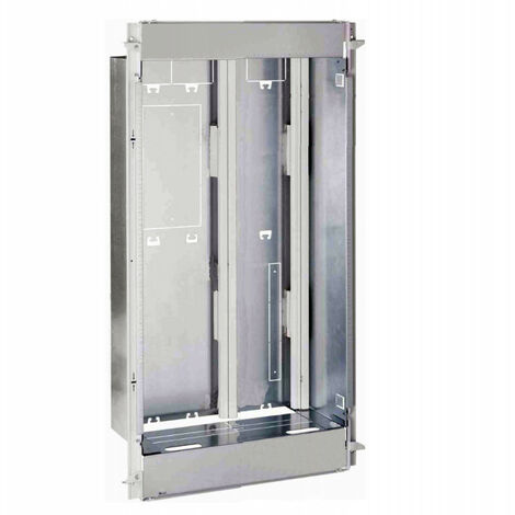 Bac + cadre métal 1 travée Drivia 4x18 + panneau Enedis + coffret Basique (401446)