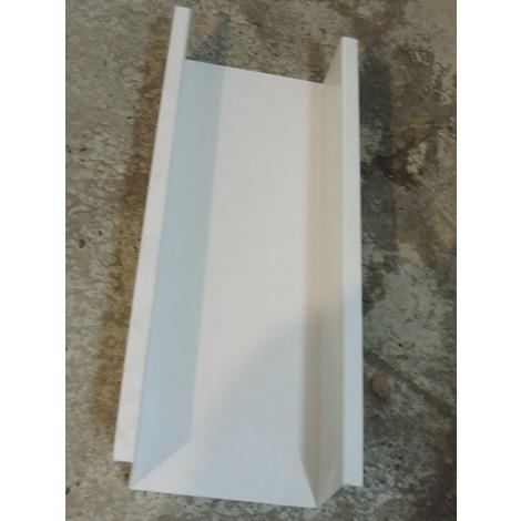 Bac conduit de visite PVC blanc hauteur 680mm prof 125mm M1 pour accessibilité ERDF simplifiée GTL COFRELEC BCC