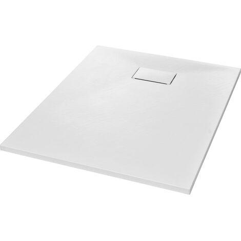 Bac de douche SMC Blanc 100 x 80 cm