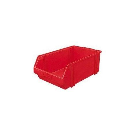 Bac de rangement LK 1 rouge 500/450x300x180 mm