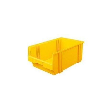Bac de rangement LK 1B jaune 500/450x300x200 mm