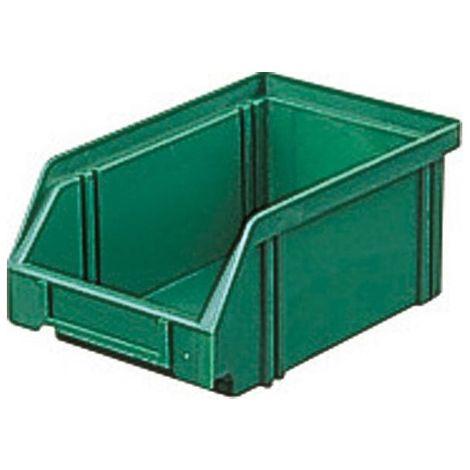 Bac de rangement LK 1C vert 500/450x300x145 mm