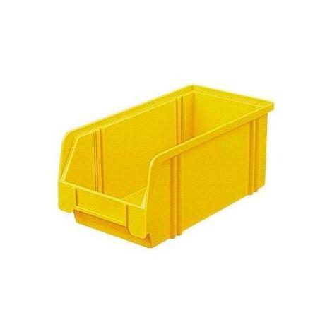 Bac de rangement LK 3A jaune 290/266x140x130 mm