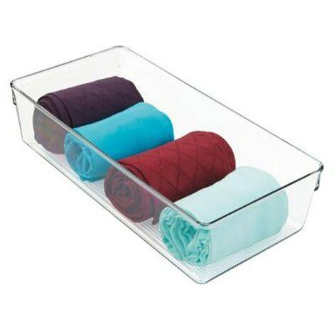 Bac de rangement pour serviette transparent - IDesign - Interdesign