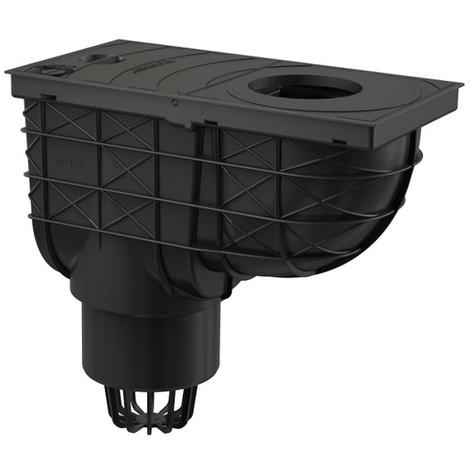 Bac de récupération d'eau de pluie pour tuyaux de descente 300/155/110 VERTICAL