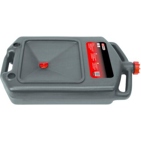 Bac de récupération en matière plastique pour huiles et produits chimiques KS Tools 150.9357