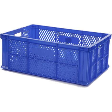 Bac europe ajouré 600x400x220 bleu Multiroir - Bleu